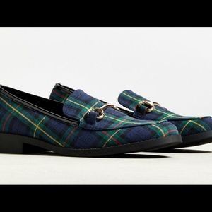 Plaid Loafers